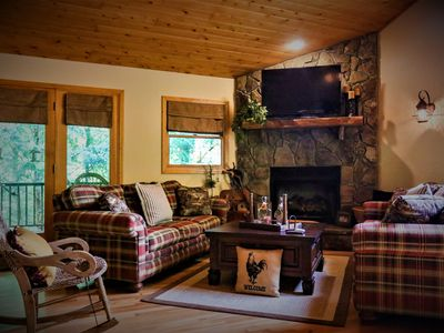 Welcome to Black Clock Cabin. Relax and enjoy the peaceful sounds of nature.