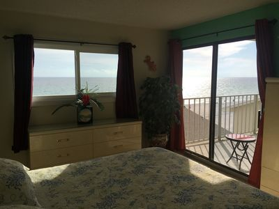Photo for FREE BEACH CHAIRS,1 BD, 2 BTH, Oceanfront with incredible Gulf view, 4th floor