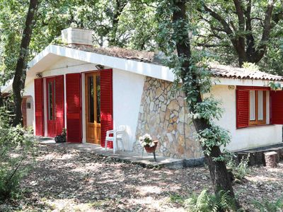 Photo for Chalet Villa Fini immersed in the oak forest.
