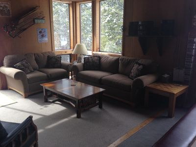 second living room with music area