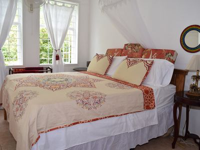 Photo for Luxurious  Eco friendly, Vegetarian  Suite in the Hummingbird Apartment