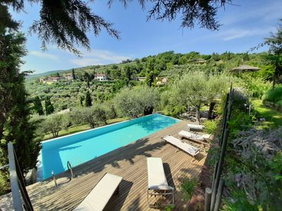 Photo for LA TORRE ROSSA: LIBERTY STYLE VILLA + PRIVATE POOL +STUNNING VIEW