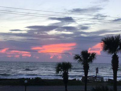 Photo for Relax at this Ocean Watch Condo with breathtaking ocean view sunrises.