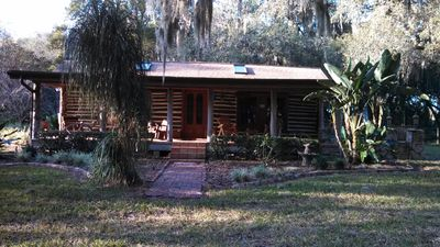 Photo for Charming Lakefront Private Cabin w/Boathouse-Fishing, biking, relaxing time!