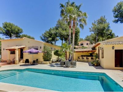 Photo for Detached villa, private pool, tastefully furnished & presented & table tennis.