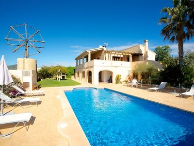 Photo for This 3-bedroom villa for up to 6 guests is located in Son Servera and has a private swimming pool, a