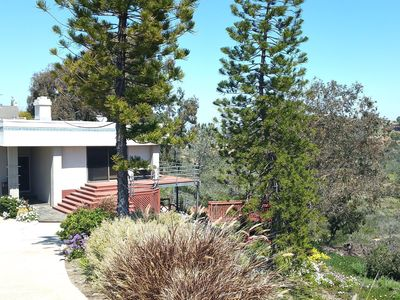 Photo for JUST LISTED  - Del Mar Home and Studio on Serene Crest Canyon