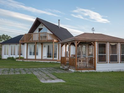 Photo for Waterfront Home On 2 Acres - Pointe-verte