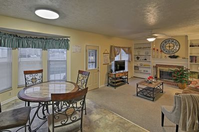 This home offers plenty of wiggle room for the family.