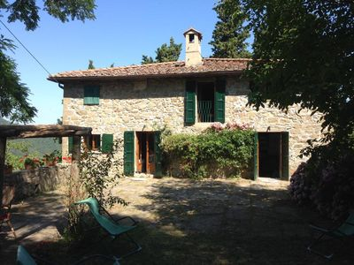 Photo for Beautiful farmhouse in the heart of Tuscany perfect for relaxing in the green