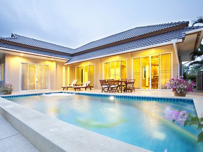 Photo for Modern Villa With Private Pool In Quiet Area Near Beach