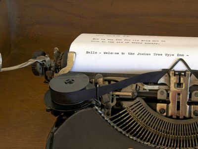 Photo for The Type Inn - stay in an interactive typewriter antique and art gallery.