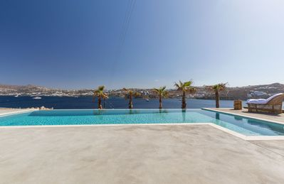 Photo for Luxury Villa with private swimming pool and stunning view overlooking the Sea