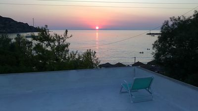 """Photo for VILA """"INSPIRATION"""" - ON KINI BEACH. House with garden & free parking -sea view"""