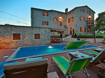 Photo for Holiday house Vižinada for 8 - 12 persons with 4 bedrooms - Holiday house