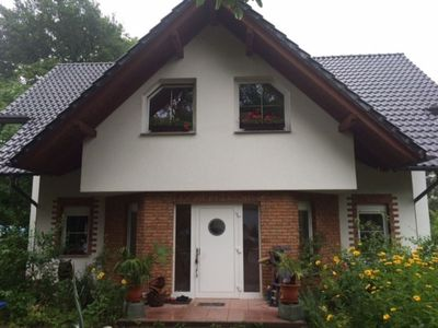 Photo for Idyllic apartment in two-family house on Krossinsee