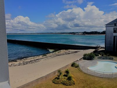 Photo for Large Studio of 50 m2 with Balcony Sea View
