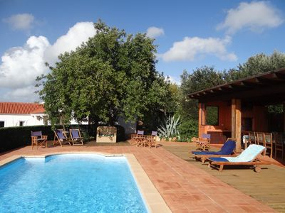 Photo for Horta do Limão, country house 4 km from the beach.