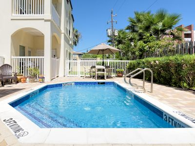 Photo for FAMILY condo close to the BEACH with POOL!
