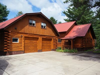 Photo for The Lodge on the Manistee (Grayling, MI):JUST LISTED  4 bedrooms-2 baths, Fly-Fishermen Welcome!