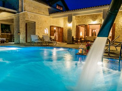 Photo for Lilas Luxury Villa, is a stone manor with its own private pool .