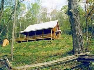 Enjoy over 100  private acres at Arbor Branch Cabin