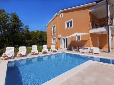 Photo for Beautiful pool Villa, 2.5 km from the sea, 920 m2 private surroundings,