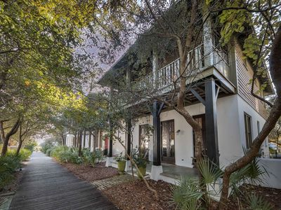 """Photo for """"Sandy Haven"""" South Side 30A Vacation Rental House in Rosemary Beach + BIKES!"""