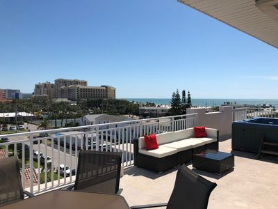 Terrific Deluxe Family Friendly Condo W Rooftop Terrace Hot Tub Breathtaking Views Clearwater Beach Download Free Architecture Designs Scobabritishbridgeorg