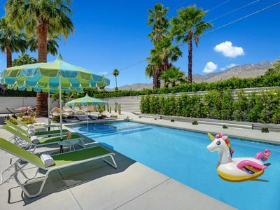 Photo for Ultra-Luxury Mid-century Alexander- Resort Style Pool, Spa & Fire Pit  3BD/3BATH
