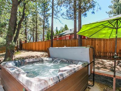 Photo for ~Diamond Houzz~Fresh Fox Farm Chalet~Private Hot Tub~Serene Back Yard~