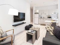 Very nice and cozy appartment. Located very conveniently in the downtown area of Montreal.