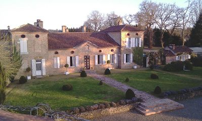 Photo for Brocas - 16 and 17th century large manor house sleeps upto 35 (house 20+gîtes15)