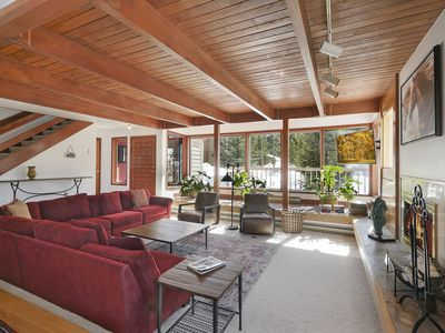 Photo for New Listing! Pet Friendly, Backs to River & Trails, Hot Tub, Newly Furnished!
