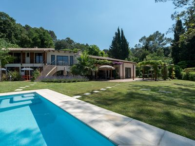 Photo for Stunning Architect Villa 240 sqm, Swimming Pool, Petanque, Amazing Views