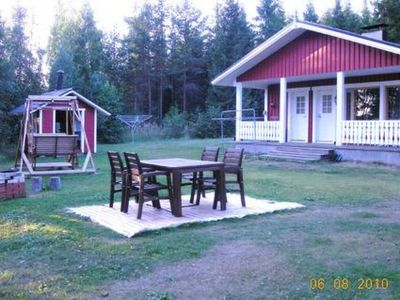 Photo for Vacation home Laavusranta in Mikkeli - 4 persons, 1 bedrooms