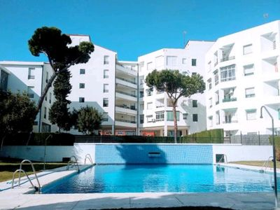 Photo for APARTMENT ON BEACH WITH POOL
