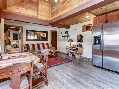 Photo for Dog-friendly modern cabin, close to skiing, hiking, and water adventures!