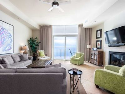Photo for Turquoise Place 2807C * Beach Front * Hot Tub on Balcony * Liquid Life