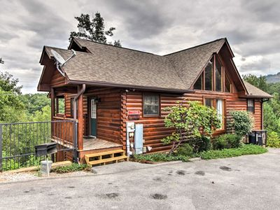 Photo for NEW! Sevierville Cabin w/ Game Room & 4 King Beds!