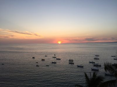 Photo for La Palapa, Zona Romantica - Ocean View condo, rooftop pool and great views