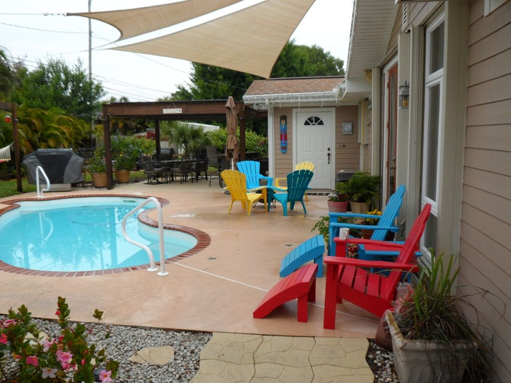 Lots Of Seating, A Fire Pit, Gas Grill, Yard Games, Outdoor Speakers