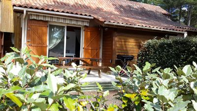 Photo for quiet house in the heart of the pine forest in pedestrian area. Near beaches