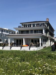 Photo for Spectacular new Oceanfront home 5 BR 6.5 bath 4K sq ft first level on large lot
