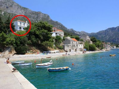 Photo for Two bedroom apartment near beach Brist, Makarska (A-505-a)