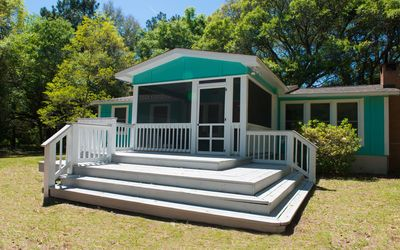 Make memories at our Sea Island Serenity cottage 2/3 bedroom and 1 bath