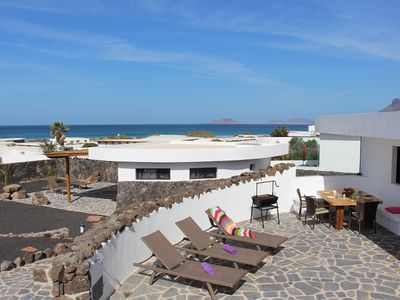 Photo for Luxury Beach Villa with Jacuzzi in a fantastic location in the nature park Villa Daida