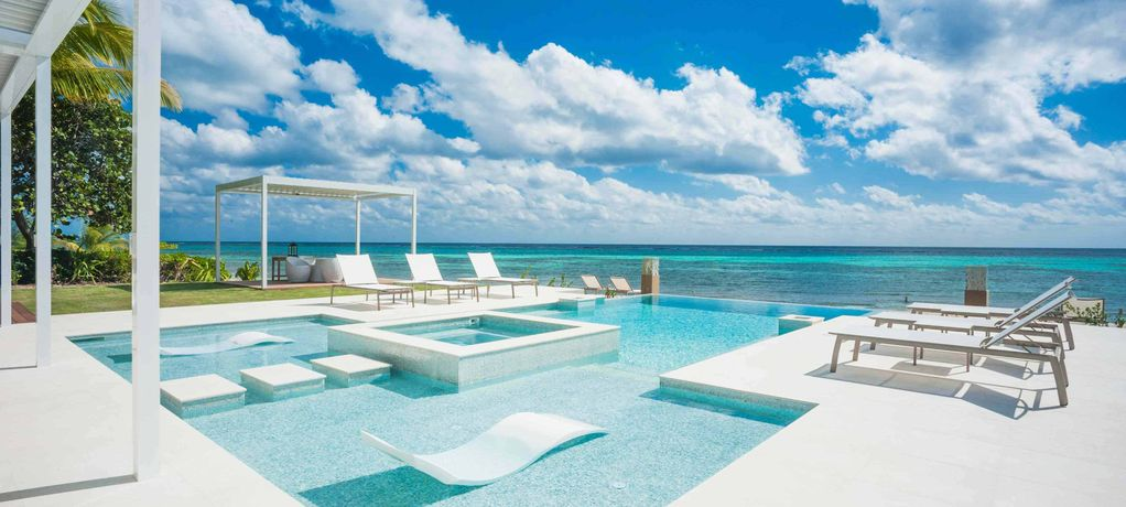SUMMER SPECIAL—6BR Modern Oceanfront—Tranquility Cove by Luxury Cayman Villas