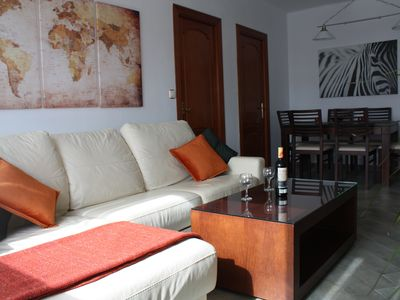Photo for Large bright apartment near the center. With wifi.
