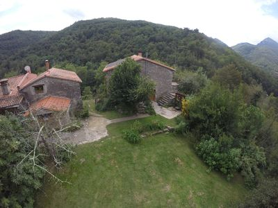 Photo for Nature lovers, rest, rivers, above ground pool, near Céret, Games society